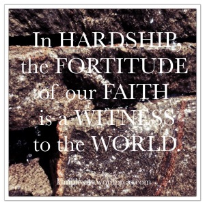 fortitude of faith